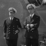 Captain a.D.Nicolls and commander J.W Grant